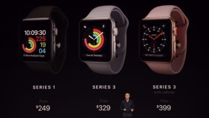 新款Apple Watch會長怎樣? 連同蘋果近期產品消息一次告訴你 圖片:AFP