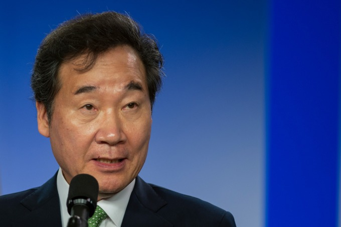遭日本從出口白名單除名 南韓:會向 WTO 提訴!(圖:南韓國務總理李洛淵,資料照片) (圖片:AFP)