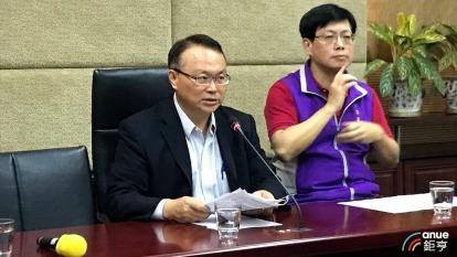 圖左為NCC主秘蕭祈宏。(鉅亨網資料照)