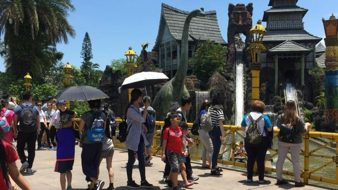 六福村暑期營運告捷,入園人次突破50萬人。(圖:六福提供)