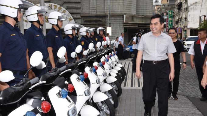 台北市政府警察局購置400餘輛Gogoro。(圖:Gogoro提供)