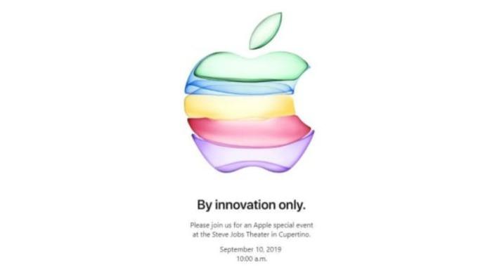 蘋果邀請函來啦! 9月10日 iPhone 新品「僅限創新」即將揭密