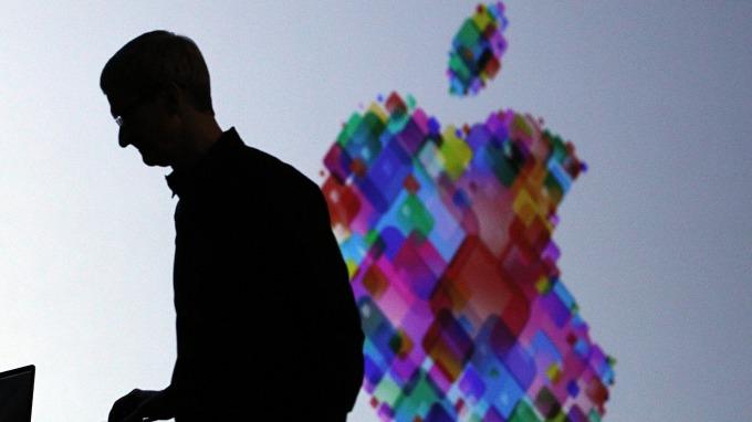 蘋果庫克今年首次大賣自家股票 進帳5千多萬美元(圖片:AFP)