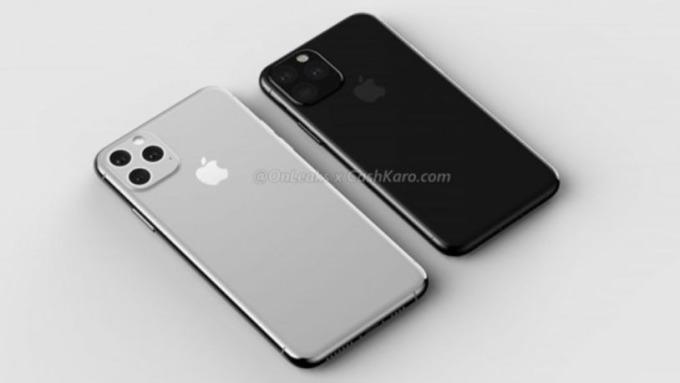 新推出的 iPhone 11 很可能會搭載 OLED 三鏡頭 True Depth 相機模組 (圖片: apple insider)