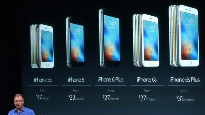 野村預測蘋果今年iPhone銷量恐下滑(圖片:AFP)
