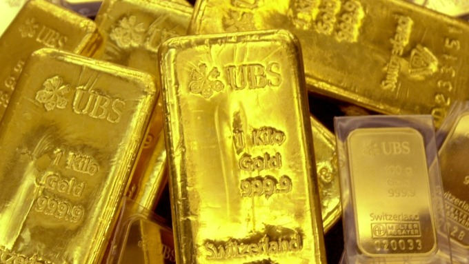 黃金連四個月上漲 本月金價漲幅有望達7%(圖片:AFP)