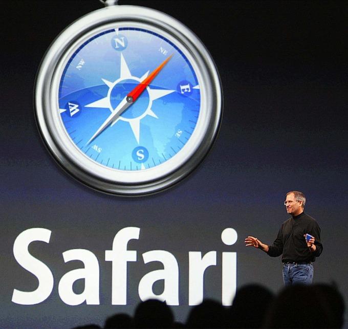 駭入 iPhone 的安全漏洞其中大多涉及 Safari 瀏覽器 (圖片: AFP)