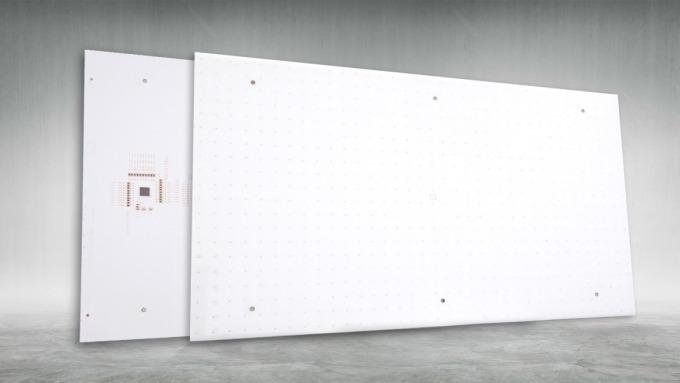 隆達在日前的Touch Taiwan 2019展會中,發表全系列Mini LED量產產品。(圖:隆達提供)