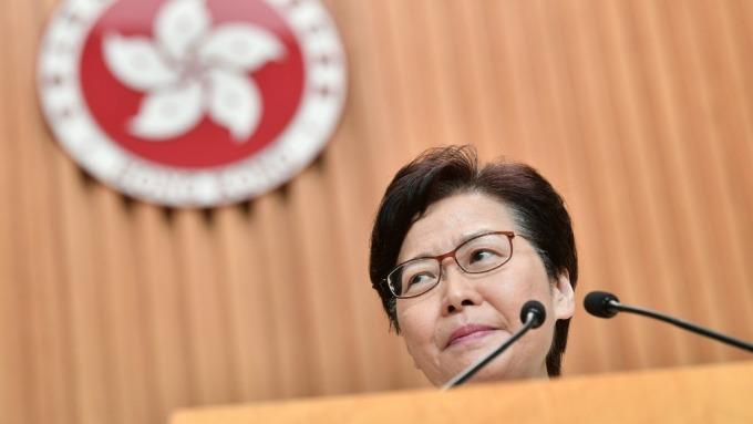 傳林鄭月娥準備撤回《逃犯條例》 港股大漲逾3.3%(圖片:AFP)