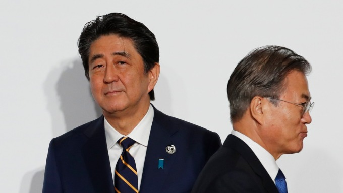 南韓刻意量身訂做?日本專屬的「甲2類」。(圖片:AFP)