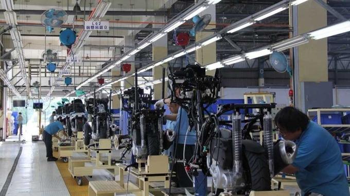 裕隆代工組裝ADIVA三輪重機,外銷歐、日、東南亞。(圖:裕隆汽車提供)