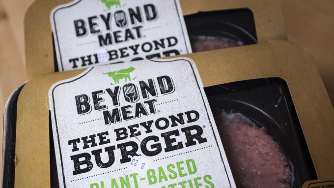 Beyond meat推出的漢堡肉(圖片:AFP)