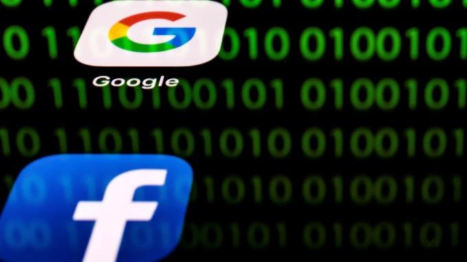 美國多州聯合宣布 對FB、Google進行反壟斷調查 (圖片: AFP)
