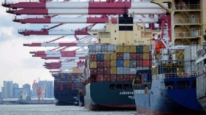 中美貿易戰發酵? 中國8月出口轉衰退1% 不如預期(圖片:AFP)