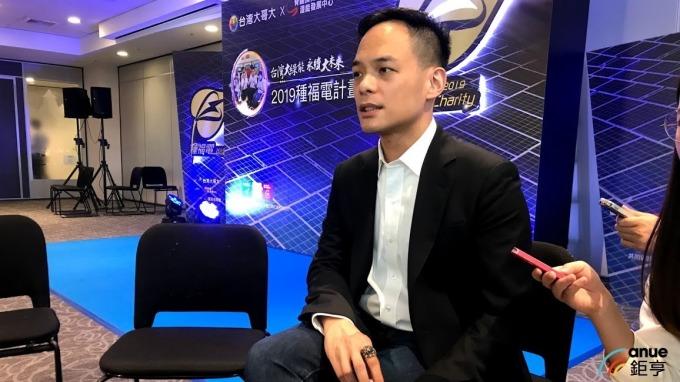 台灣大拿下前8個月獲利王,圖為總經理林之晨。(鉅亨網資料照)