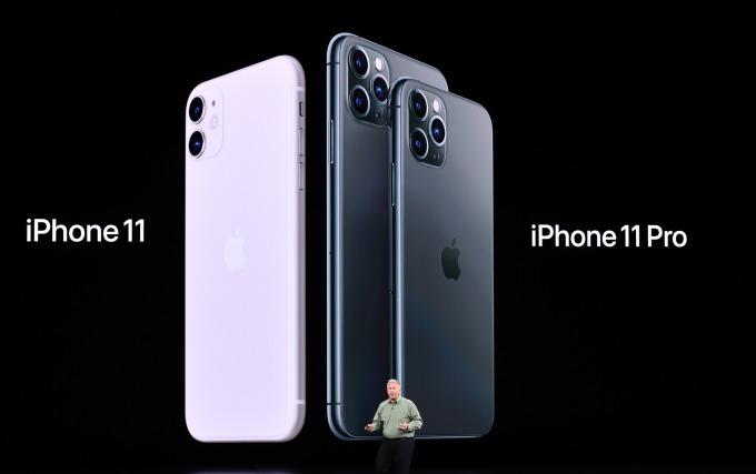 蘋果推出新旗艦智慧型手機 iPhone 11 Pro、iPhone 11 Pro Max 與 iPhone 11。(圖片:AFP)