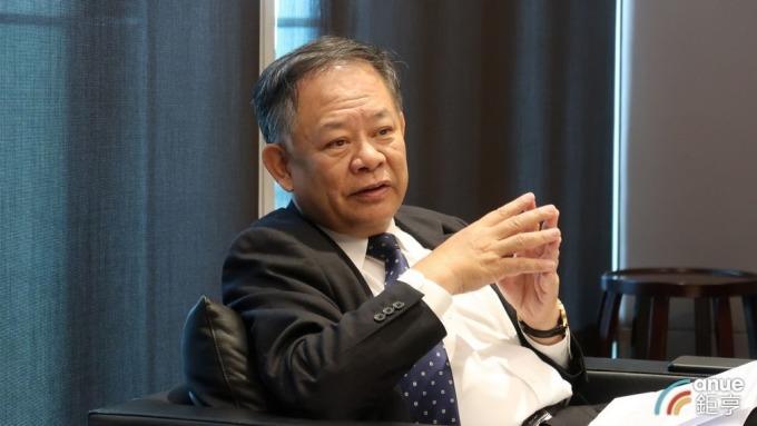 華南金控暨銀行董事長張雲鵬。(鉅亨網記者陳蕙綾攝)