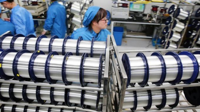 光通訊廠8月營收光環創高,眾達、聯亞小幅衰退。(圖:AFP)