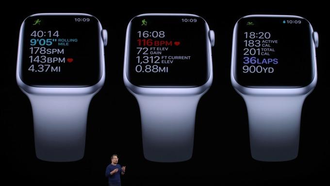 新Apple Watch搭載「全時啟動」螢幕 主打健康、健身、追蹤經期 (圖片:AFP)