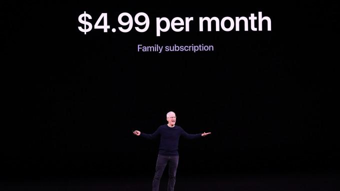蘋果新產品的訂價風格凸顯其經營策略的劇烈轉變(圖:AFP)