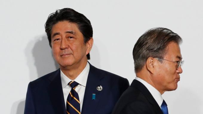 南韓針對日本出口管制措施、向WTO提出訴訟手續。(圖片:AFP)