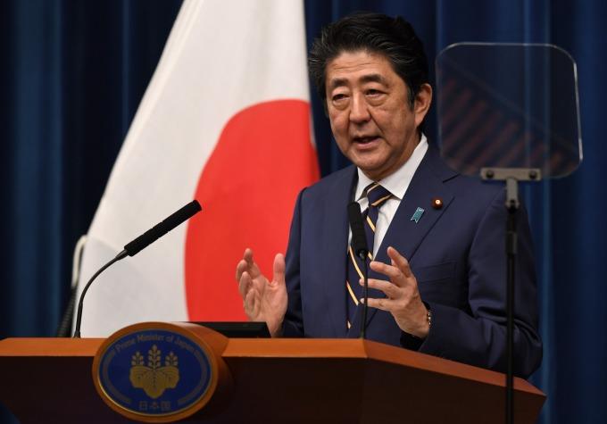 日本首相安倍晉三。(資料照片) (圖片:AFP)