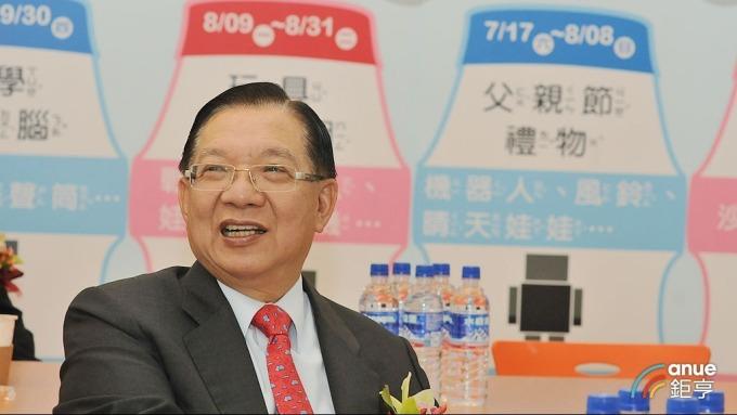 中保董事長林孝信曾在京華城「BabyBoss職業體驗任意城」主持召開股東會。(鉅亨網記者張欽發攝)