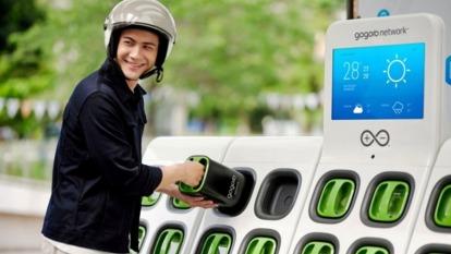 中油評估Gogoro、光陽換電共站,估年底前盤點完畢。(圖:Gogoro提供)