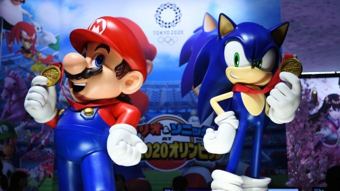 〈鉅亨看世界〉東京電玩展瘋5G  (圖片:AFP)