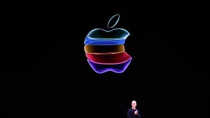 高盛暗示蘋果有26%跌幅 蘋果罕見發聲明回擊  (圖片:AFP)