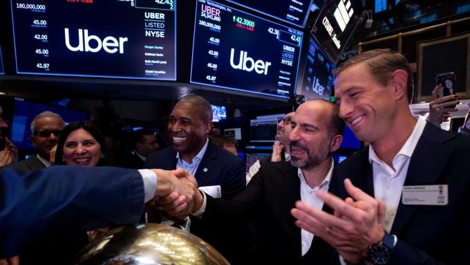 IPO市場火熱 但市場正在避開賠錢貨如Uber、Lyft(圖:AFP)