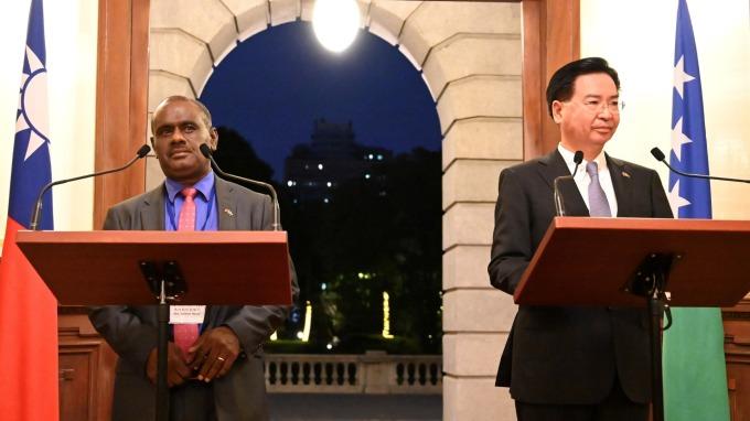 台索斷交!索羅門轉向與中國建交,外交部:遺憾。(圖:AFP)