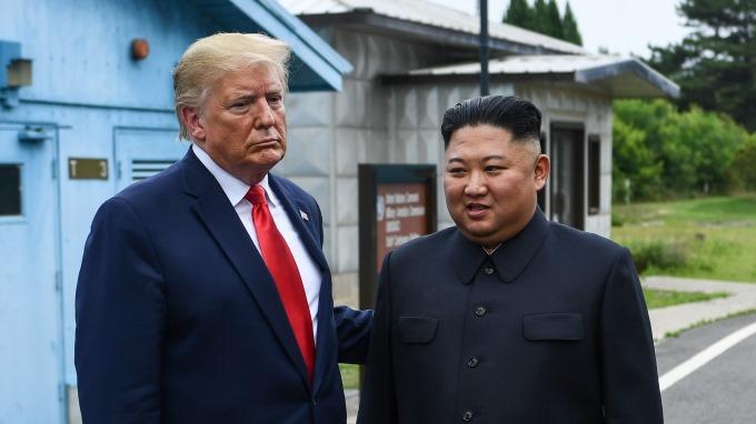 金正恩親筆信 再邀川普赴北韓(圖片:AFP)