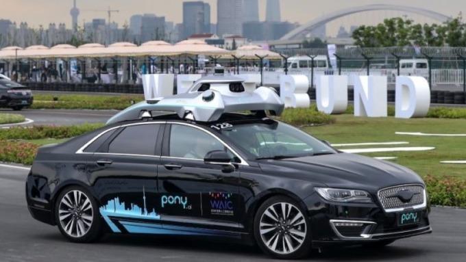 看好自動駕駛車前景 中美政府及企業紛紛積極投資 圖片:AFP