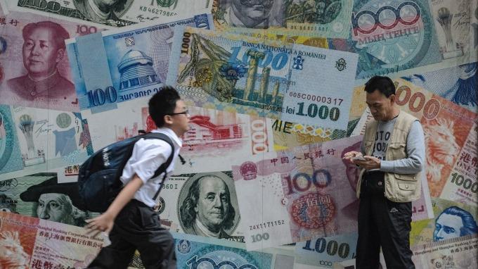 人民幣國際化進展緩慢 BIS:占全球外匯交易僅4.3%(圖片:AFP)