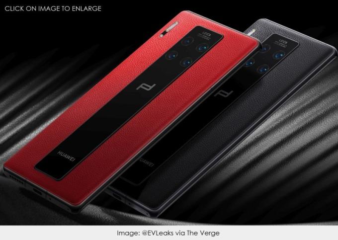 華為保時捷型號手機 (圖片: www.patentlyapple)