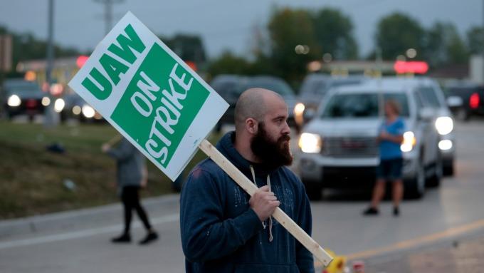 工會罷工致生產停擺 GM每日虧損恐達1億美元 (圖:AFP)