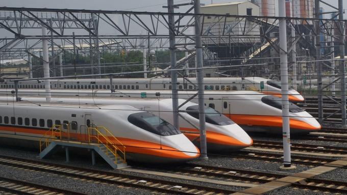 高鐵中秋收假日旅運人次創新高,旺季效應可望持續至Q4。(圖:AFP)