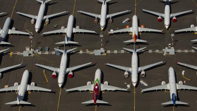 WSJ:JATR將重砲批判FAA、波音盼737早日安全重返天際  (圖片:AFP)