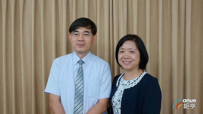 士誼科技董事長由陳淑敏(右)出任。(鉅亨網記者張欽發攝)