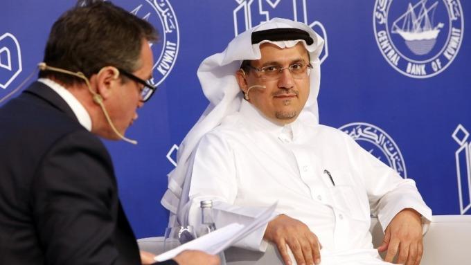 沙國央行行長 Ahmed Abdulkarim Alkholifey (圖:AFP)