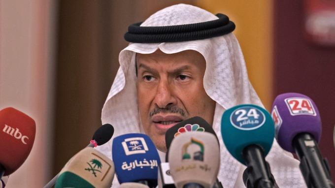 沙國能源部長Abdulaziz bin Salman王子 (圖片:AFP)