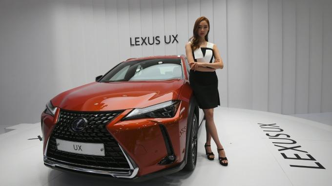 日本進口車在南韓腰斬、唯Lexus逆勢成長  (圖片:AFP)