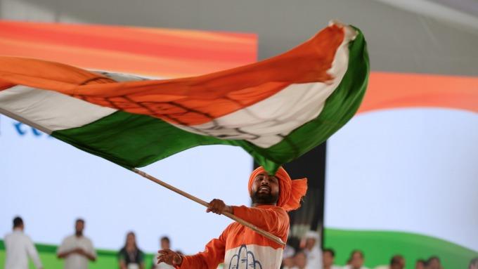 對莫迪經濟學失望!外資拋售印度股票達45億美元  (圖:AFP)