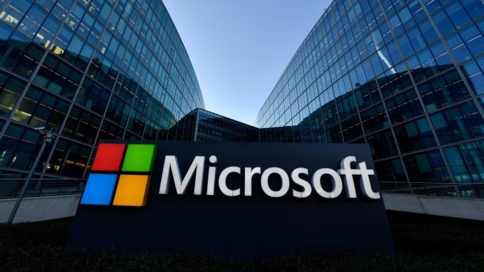 微軟批准 400 億美元庫藏股計劃。(圖片:AFP)