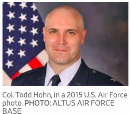 遭到拘捕的前美國空軍 FedEx 機師 (圖片: WSJ)