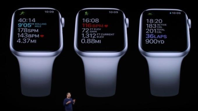 Apple Watch陣容陸續到位 新型號功能與舊型號更新蓄勢待發 圖片:AFP