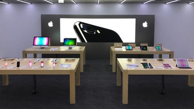 燦坤3C的Apple授權門市。(圖:燦坤提供)