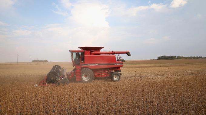 美國農田示意圖。(圖片:AFP)