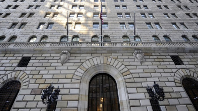 NY Fed:將持續操作附買回交易直至10月中(圖:AFP)
